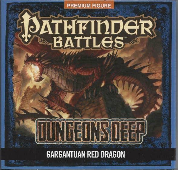 Gargantuan Red Dragon Dungeons Deep Promo