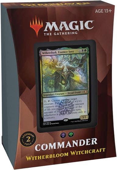 Witherbloom Witchcraft Commander Deck