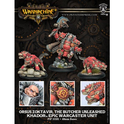Kommander Zoktavir, the Butcher Unleashed