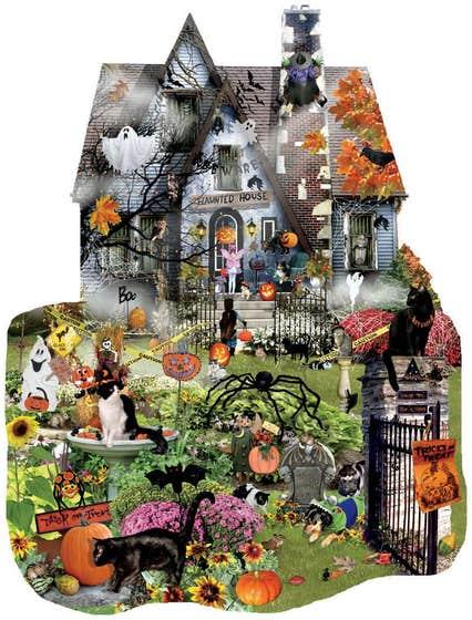 Lori Schory Spooky House Puzzle (1000)