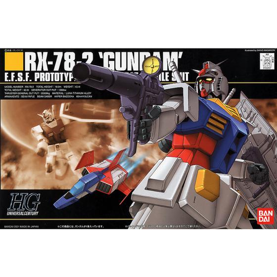 HGUC RX-78-2 Model Kit