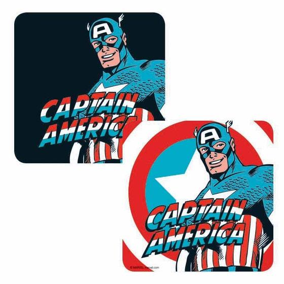 Captain America Lenticular Coaster