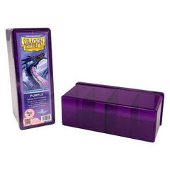 Purple Dragon Shield Four Compartment Deck Box