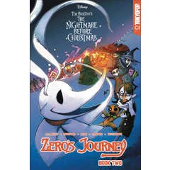 Disney Manga: Tim Burton's The Nightmare Before Christmas -- Zero's Journey Graphic Novel Book 2 (official full-color graphic novel, collects single chapter comic book issues #5 - #9)