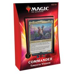 Ikoria Timeless Wisdom Commander Deck