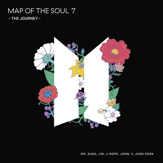 Map of the Soul: 7 the Journey JP Album