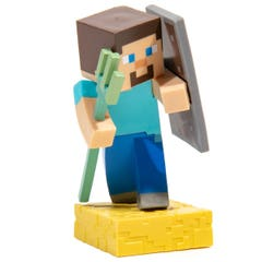 Steve with Trident Adventure Figure Series 4