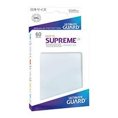 Japanese Size Frosted Supreme UX Matte Sleeves (60)