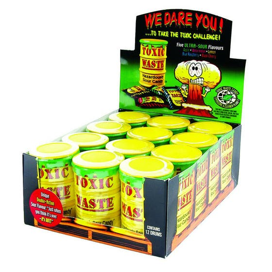 Toxic Waste Yellow Drums 42g