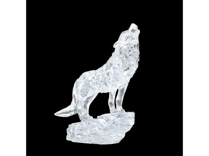 Wolf Clear 3D Crystal Puzzle
