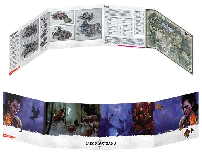 Dungeon Master's Screen Curse of Strahd