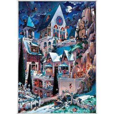 Castle of Horror Puzzle (2000)