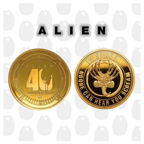 Alien 40th Anniversary Collectible Coin
