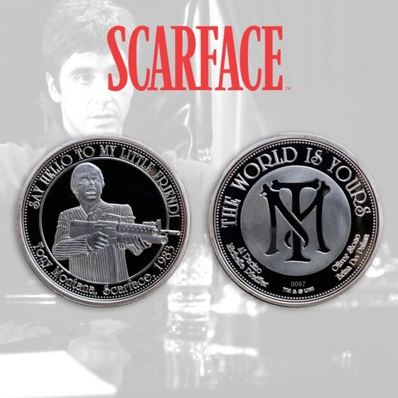 Scarface Limited Edition Collectible Coin