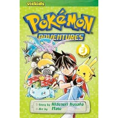 Pokemon Adventures (Red and Blue), Vol. 3