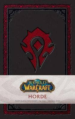 World of Warcraft: Horde Hardcover Ruled Journal. Redesign