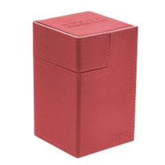 XenoSkin Flip 'n' Tray Red Deck Case (100+)