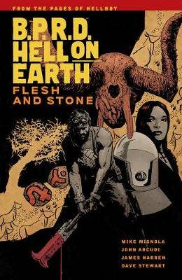 B.p.r.d Hell On Earth Vol. 11: Flesh And Stone