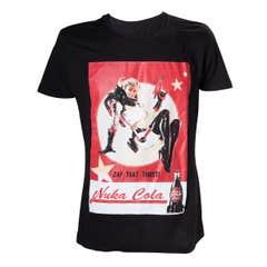 Fallout Lady print T-Shirt (XL)