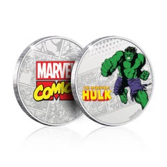 Hulk Silver Plated Collectible Coin
