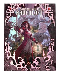 Van Richten's Guide to Ravenloft (Alternate Cover): Dungeons & Dragons (DDN)