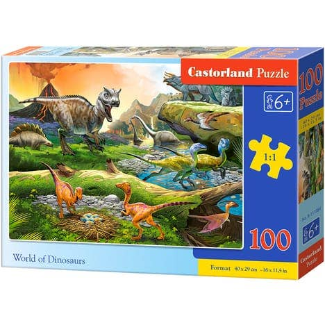 World of Dinosaurs Puzzle (100)