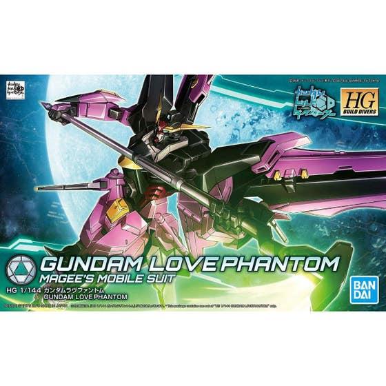 HGBD Gundam Love Phantom Model Kit 1/144