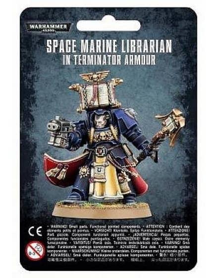 Librarian in Terminator Armour
