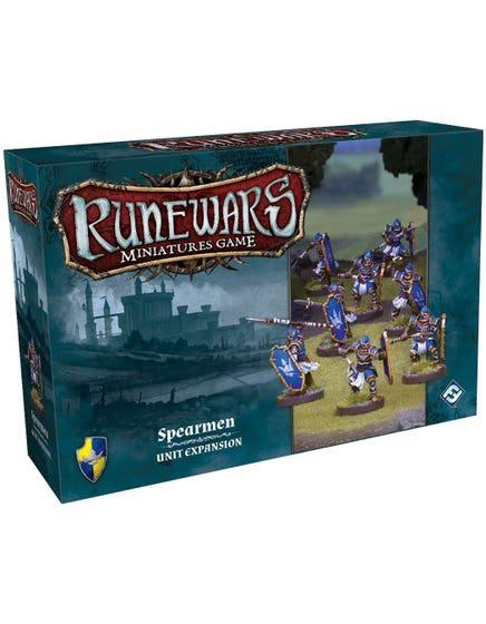 Runewars Miniatures Game: Spearmen – Unit Expansion