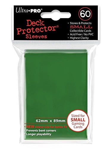 Small Size Green Deck Protector Sleeves (60)