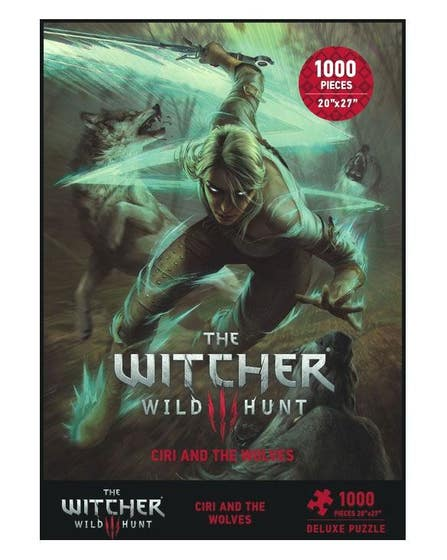 Ciri and the Wolves Puzzle (1000)