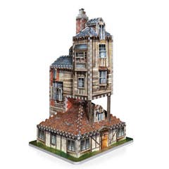 Burrow, Weasley Family Home 3D Puzzle (415)