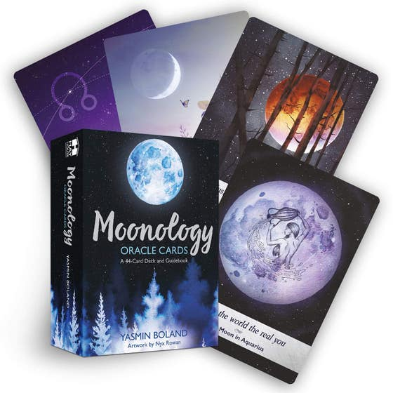 Moonology (TM) Oracle Cards: A 44-Card Deck and Guidebook