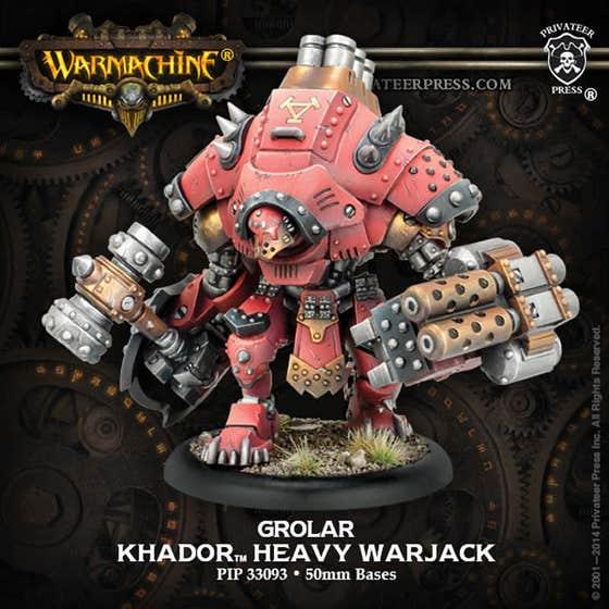 Grolar/Kodiak Heavy Warjack Kit