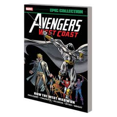 Avengers West Coast Epic Collection: Lost In Space-time