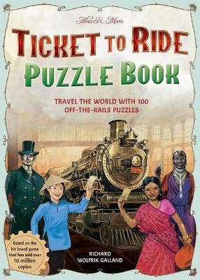 Ticket to Ride Puzzle Book: Travel the World with 100 Off-the-Rails Puzzles