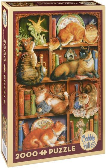 Feline Bookcase Puzzle (2000)
