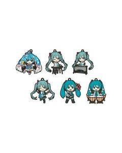 Hatsune Miku Band Together 03  Nendoroid Plus Rubber Keychain