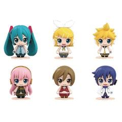 Hatsune Miku Pocket Maquette 01 Mini Fig 6pc Ds