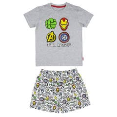 Avengers Grey Kid's Pajamas (10 Years)