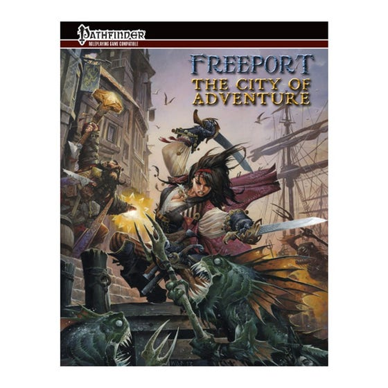 Freeport: The City of Adventure for the Pathfinder RPG