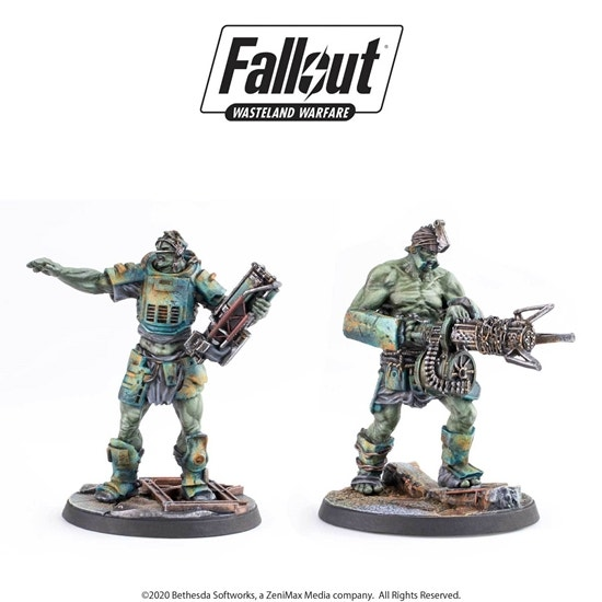 Super Mutant Overlord and Fist