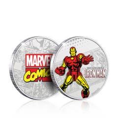 Invincible Iron Man Silver Plated Collectible Coin