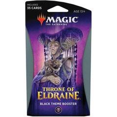 Throne of Eldraine Black Theme Booster