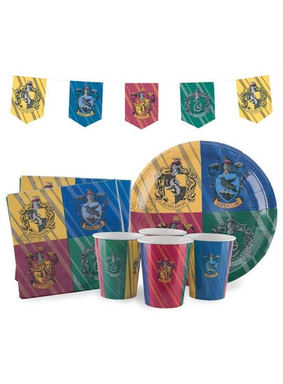 House Crests Birthday Set