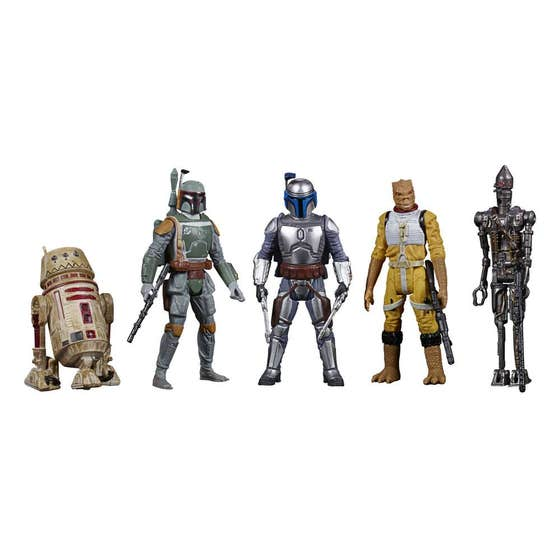 Bounty Hunters Celebrate the Saga Action Figures 5-Pack