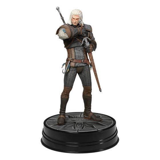 Heart of Stone Geralt Deluxe Edition PVC Statue 24 cm