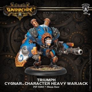Cyclone/Defender/Ironclad Heavy Warjack Kit