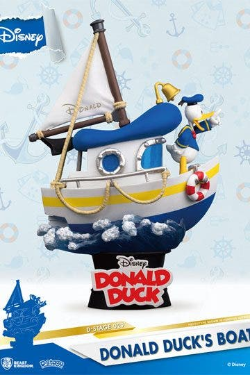 Disney Ds-029 Donald Ducks Boat D-stage Ser Px 6in Statue