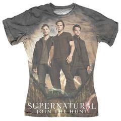 Supernatural Sublimation Ladies T-Shirt (L)